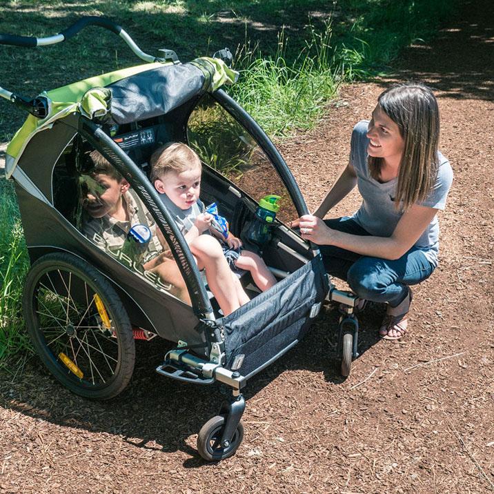 Bika: vendita di Bike Trailer per il trasporto di bambini o animali