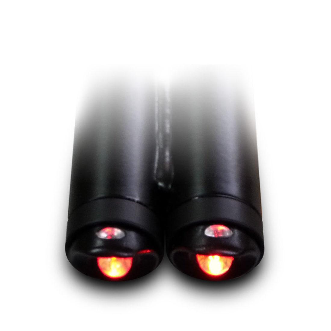 adattatori luce led ؘ20/22 su tubolare ؘ26/30 (coppia)
