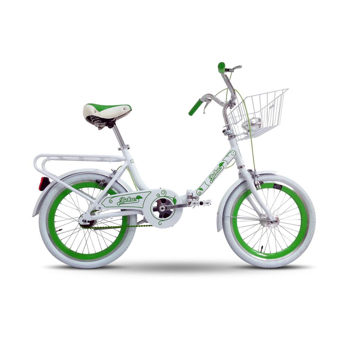 """Bika: bicicletta 20"""" BEBA alluminio, pieghevole"""