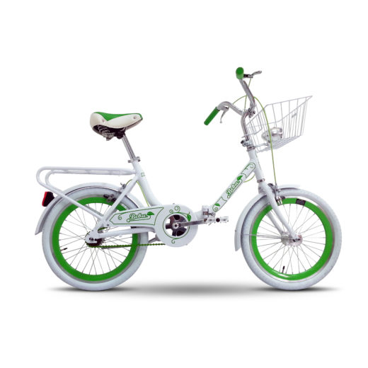 "bicycle 20"" BEBA alluminium, folding"