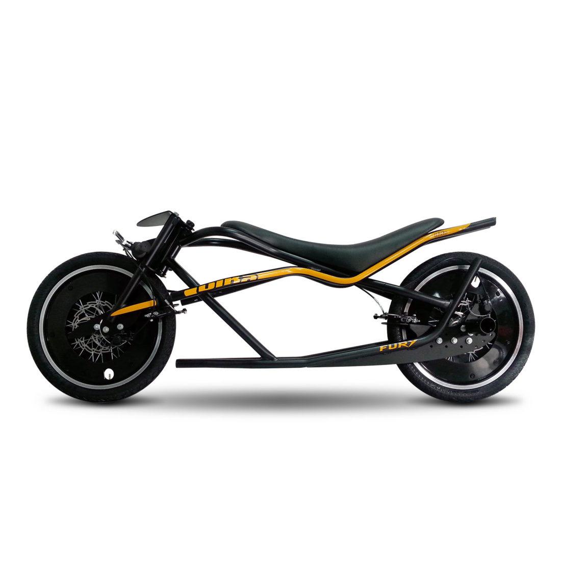"Bika: gravity bike da strada 20"" FURYbase acciaio"