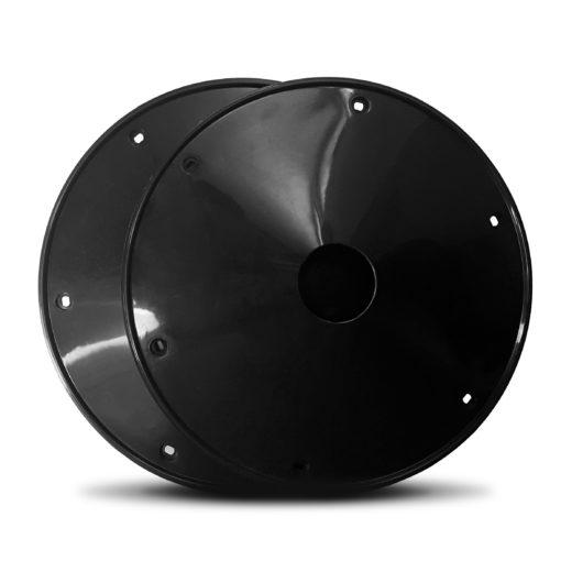 1.0158.2000.0101 - copriraggi 20 pollici nero