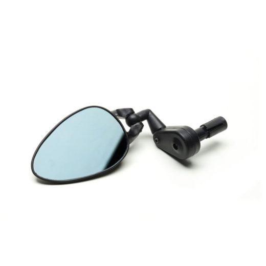 1.0163.1000.0201 - specchietto plastica nera con expander