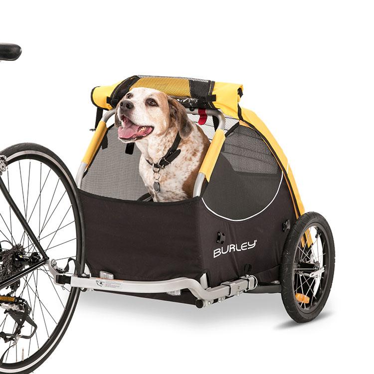 Trailer stroller burley tail wagon rimorchio bici per - Carrello per bici porta cani ...