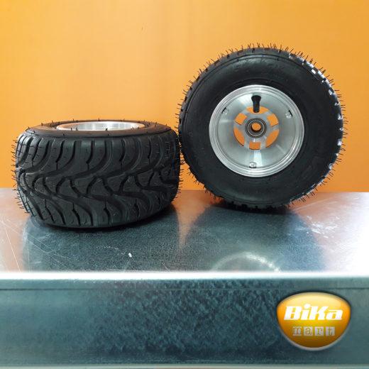 1.9000.0001.0000 - coppia cerchi KART anteriori alluminio con pneumatici