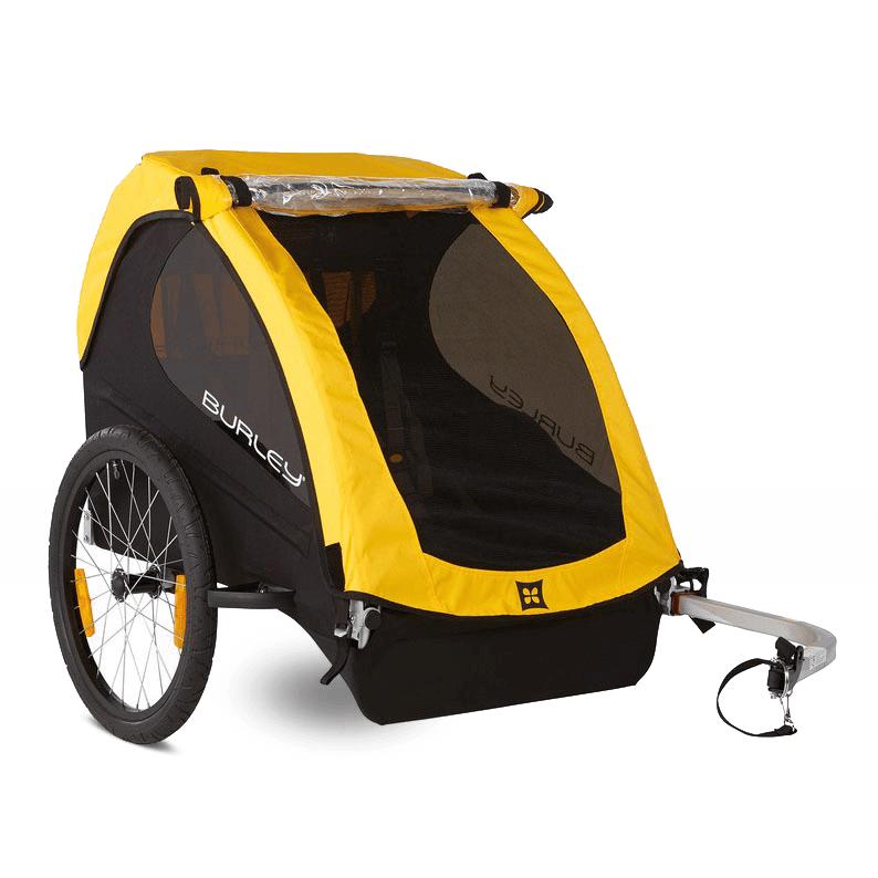 Bika: I rimorchi per trasporto bambini permettono al conducente della bici di avere un maggior equilibrio anche trasportando uno o due bambini